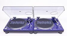 2 Technics SL-1200 MK2 (Customised Color + High Quality RCA + Custom LED Lights)