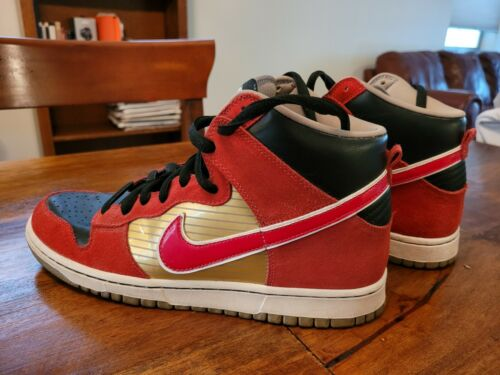 "Nike SB Dunk High Pro ""Tecate"" Size 11 lightly us"