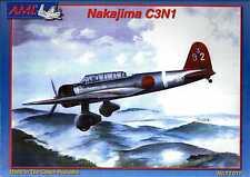 AML Models 1/72 NAKAJIMA C3N1 TYPE 97 Japanese Navy Carrier Reconnaissane Plane