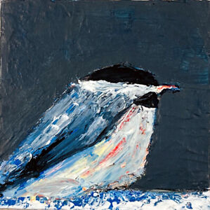 Chickadee-Bird-Palette-Knife-Painting-Katie-Jeanne-Wood