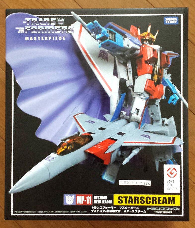 Takara Tomy Transformers Masterpiece MP11 Starscream Action Figure star scream