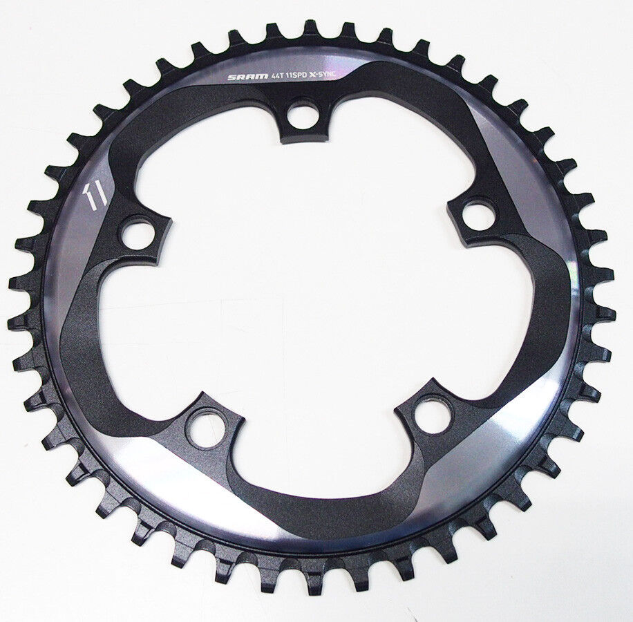 SRAM FORCE 1 CX1 CycleCross X-Sync Narrow Wide Chainring 44T 10 11 Spd BCD 110mm