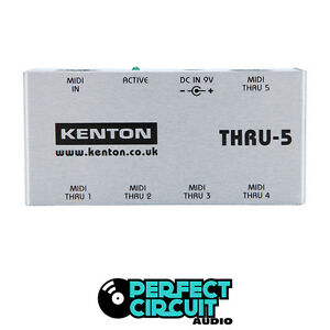 Kenton Electronics Thru-5 Thru 5 MIDI SPLITTER - NEW - PERFECT CIRCUIT