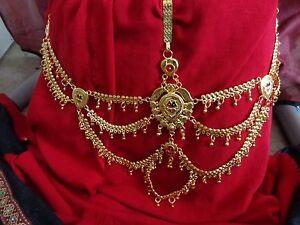Gold saree half belt Waist Bridal Sari Chain India women Belt