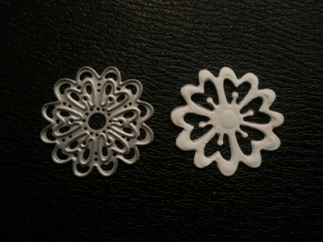 Sizzix Die Cutter /& Embosser DECORATIVE FLOWER  Thinlits fits Big Shot Cuttlebug