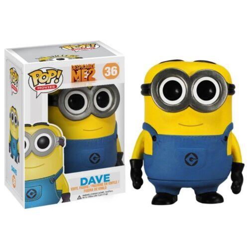 Ich Einfach Unverbesserlich 2 Film Dave Funko POP!Vinyl Figur Kiste geöffnet