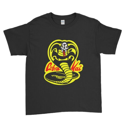 COBRA Kai Mirage Dojo Karate Kid Arti Marziali Divertente Bambini Ragazzi T Shirt Unisex
