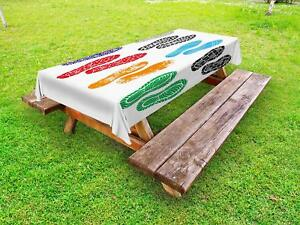Artisan-Retro-Outdoor-Picnic-Tablecloth-in-3-Sizes-Washable-Waterproof