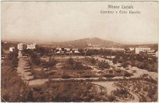 ALBANO LAZIALE - GIARDINO E COLLE GAVELLO (ROMA) 1919