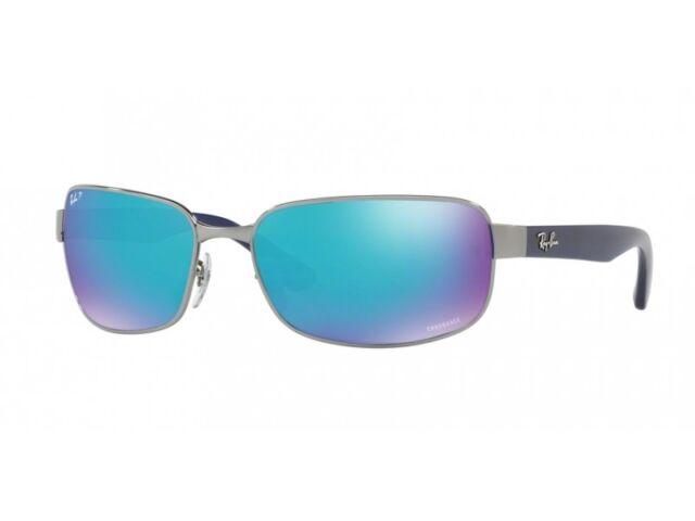 2c598006ccc Sunglasses Ray-Ban Chromance Rb3566ch 004 a1 65 Gunmetal Mirror Blue ...