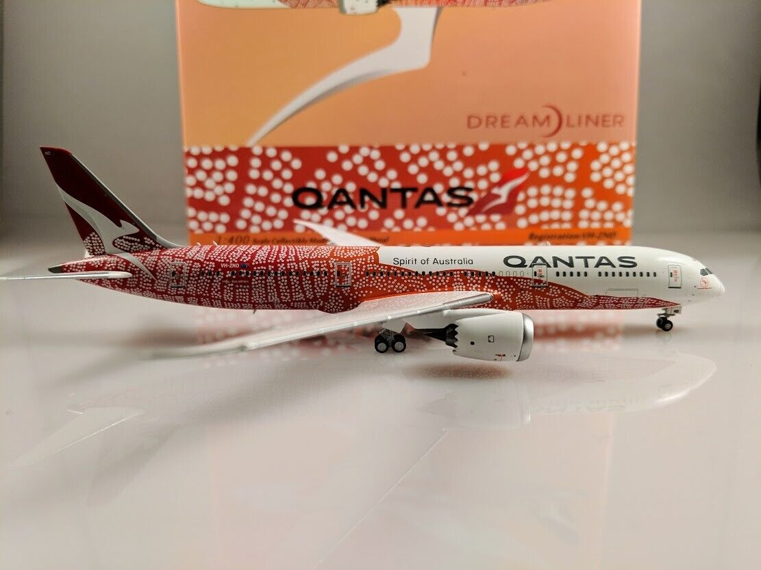 New 1/400 NG Models Qantas Boeing 787-9 VH-ZND - First Release December 2018