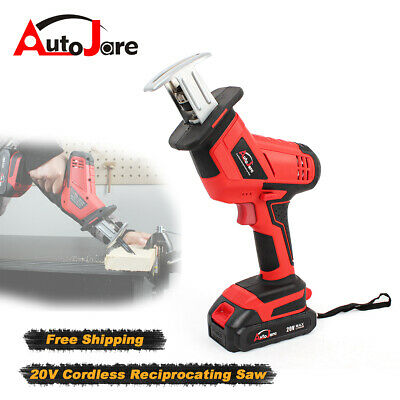Autojare Reciprocating Saw Cordless Electric Battery sabre saw wood cutting 20V