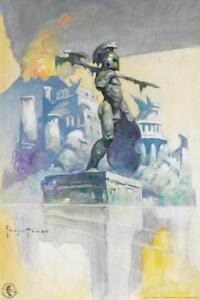 Atlantis-by-Frank-Frazetta-Art-Print-Mural-inch-Poster-36x54-inch