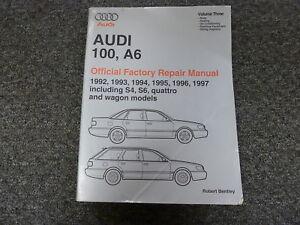 1992 1997 audi 100 a6 s4 s6 quattro wagon hvac wiring body service rh ebay com 1998 Audi S4 1998 Audi S4