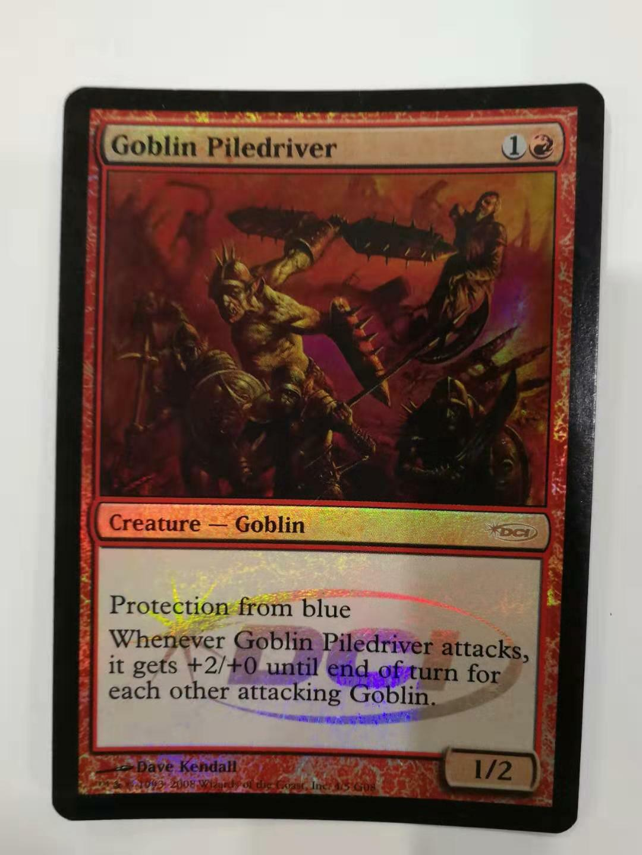 Magic the Gathering DCI FOIL Promo Goblin Piledriver
