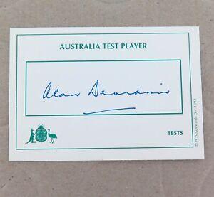 AUSTRALIA-TEST-PLAYER-SIGNED-CARD-ALAN-DAVIDSON