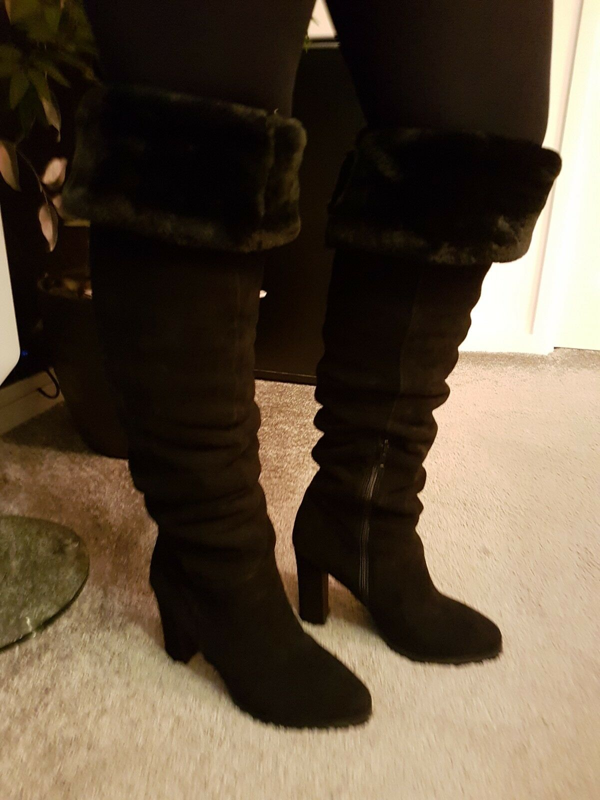 Stunning River Island Over Knee Boots. Size 6. Brand New