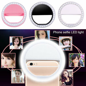 Portable-Luxury-Selfie-LED-Camera-Ring-Flash-Fill-Light-For-IPhone-Mobile-Phone