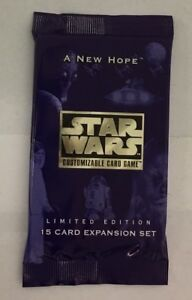 Star-Wars-A-New-Hope-Limited-Edition-CCG-Factory-Sealed-Booster-Pack-Decipher