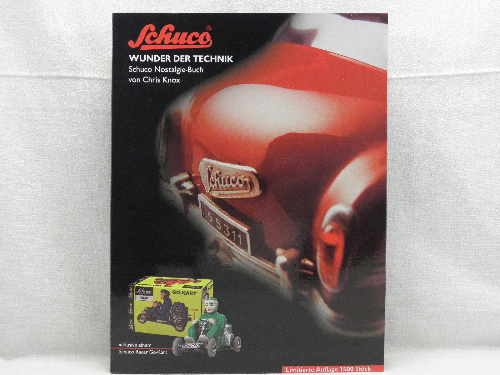 Schuco 02145 Modèle Racer Kart au maßst .1  18 et le livre miracle de la technologie