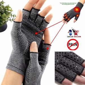 Copper-Compression-Gloves-Carpal-Tunnel-Arthritis-Joint-Pain-Promote-Circulation