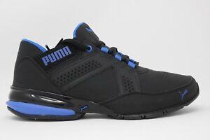 Men s PUMA Enzin SL 190382 02 Black Lapis Blue Brand New In Box  f043ad267