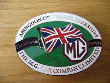 MG CAR COMPANY  ENAMEL GRILLE BADGE M J P MGB A C V8 RV8 MGF SV TA TC TD TF Y Z