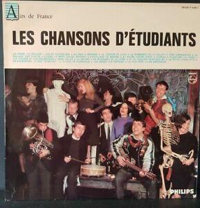 Laufwerk-33-Tours-Les-Studentenlieder-Chor-DER-UNIVERSITAT-Bruessel