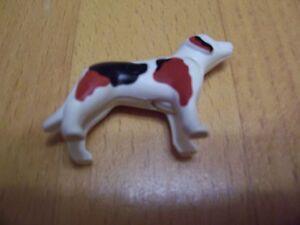 Hund von Playmobil, weiß gefleckt, Playmobil-Hund, Haustier - <span itemprop='availableAtOrFrom'>Ibbenbüren, Deutschland</span> - Hund von Playmobil, weiß gefleckt, Playmobil-Hund, Haustier - Ibbenbüren, Deutschland