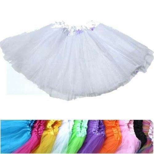 White ShortGlove TUTU 4 Set Baby Kids Girls Socks Skirt Princess hen Party A
