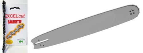 Schwert Husqvarna Partner Jonsered 38 cm 325 1,3 mm 64 Treibglieder Kette