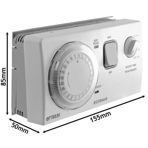 UNIVERSAL Economy 7 Timer Water Immersion Storage Heater Time Switch Boost
