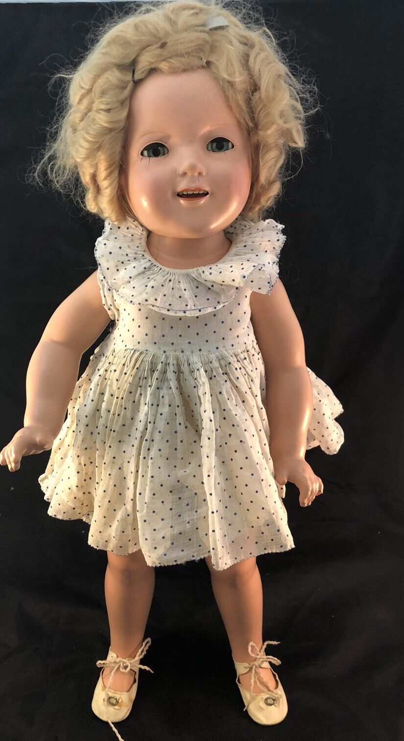 Vintage 22  Ideal Shirley Temple Composition Doll