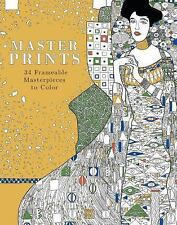 Masterpieces, a Do-It-Yourself Art Book : 32 Prints to Color and Paint: By Co...