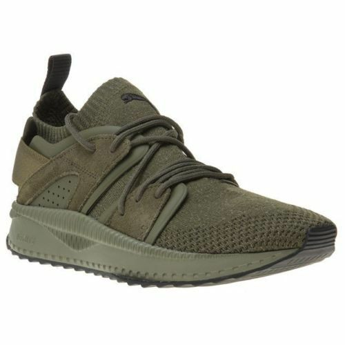 PUMA TSUGI BLAZE EVOKNIT LOW SNEAKERS MEN SHOES OLIVE 364408-03 SIZE 13 NEW