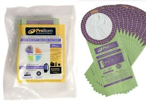 Details About Pack Of 20 Qt Pro Team For Coachvac Super Megavac 100331 Cleaner Vacuum Bags