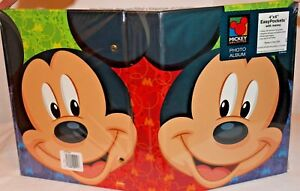 Mickey-Photo-Album-Holds-up-to-150-4-039-039-by-6-034-and-or-3-034-by-5-034-Prints