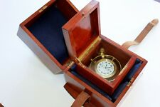 WWI ELGIN Ships Chronometer Deck Watch - RARE FREESPRUNG Grade 367 Class 90