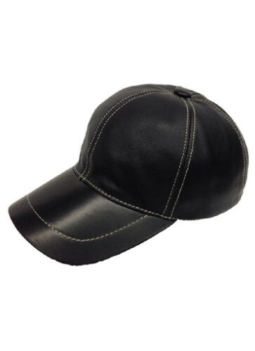New Real Leather Baseball Classic Cap Mens soft Adjustable Genuine Hat Winter