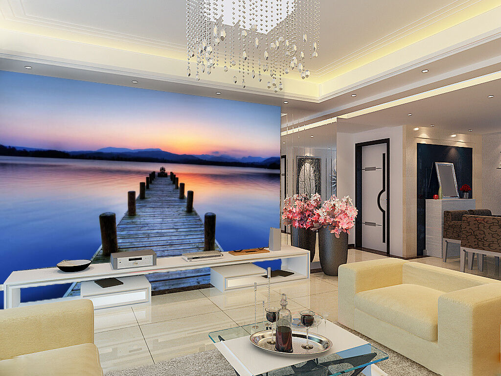 3D Coast horizon 2544 Wall Paper Wall Print Decal Wall Deco Indoor Wall Murals