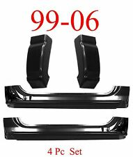 99 06 Chevy 4Pc Extended Rocker & Regular Cab Corner Set, 2Dr GMC Truck OEM Type