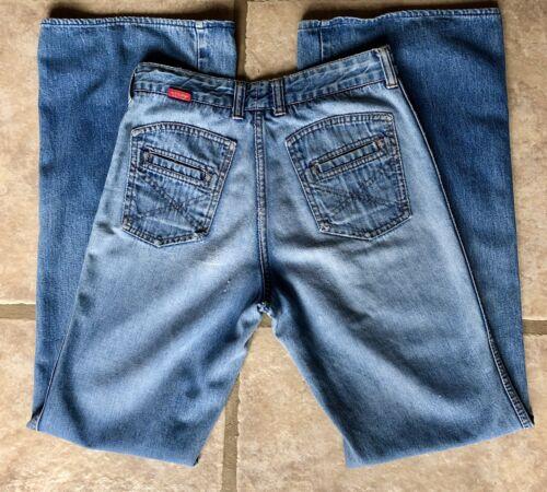 Rare  70's Women's Jeans Chemin De Fer Vintage De… - image 1