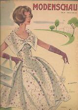 50er Jahre: Modenschau Nr. 56, mit Schnittmusterbogen A/B,   Verlag Gustav Lyon