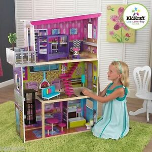 Image Is Loading Dollhouse Barbie Size W Furniture Wooden Girls Girl