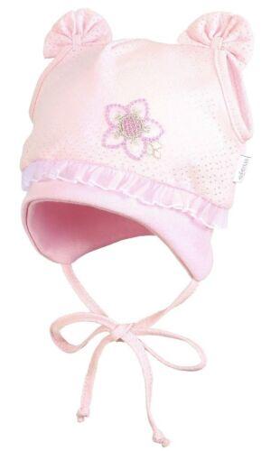Chicas De Algodón Rico Sol Sombrero Sombrero Primavera Verano tie up Baby Cap 0-24 meses