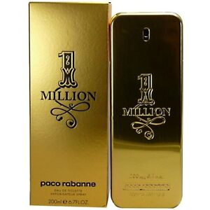 Perfume For Men Paco Rabanne One Million 1 200 Ml 67 Oz 200 Edt Eau