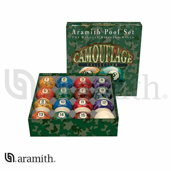Aramith Camouflage Pool Table Billiard Ball Set | EBay