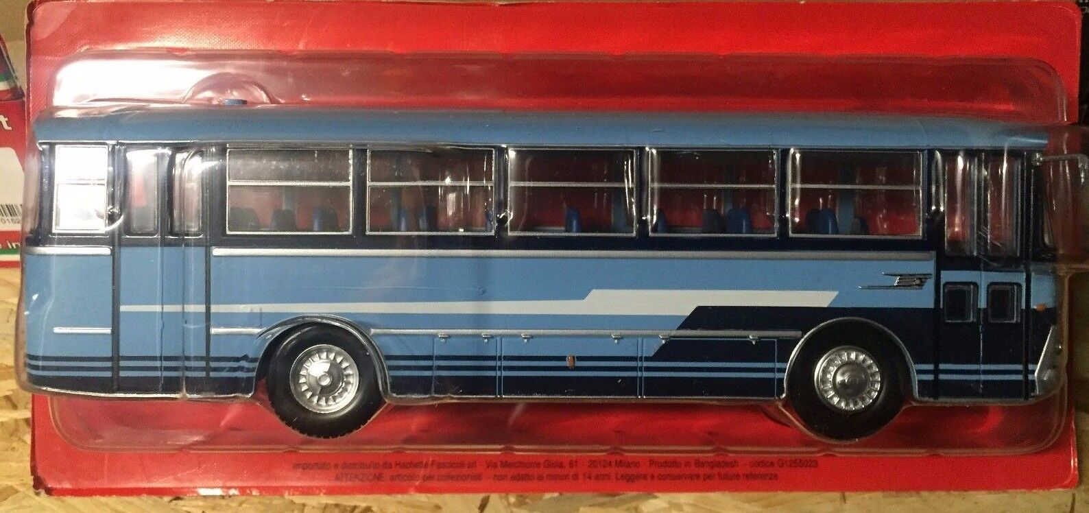 Die cast bus from the World  fiat 309 1 SDM Menarini - 1966  Scale 1 43