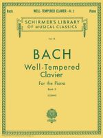 Well Tempered Clavier Book 2 Piano Solo Piano Large Works 050252040