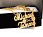 miniatura 14 - Personalizzato Argento Sterling 14 kGold Qualsiasi Nome Piastra Collana Catena Script USA